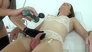 Unfaithful english milf lady sonia displays her monster hooters